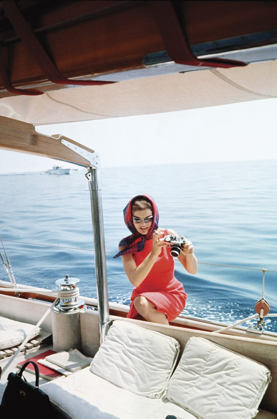 Mark Shaw, Jacqueline Kennedy, Ravello, 1962