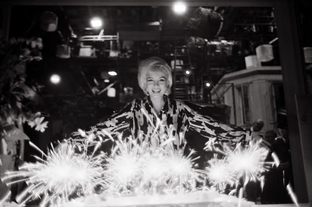 Lawrence Schiller, Marilyn Monroe on her Birthday, 1962