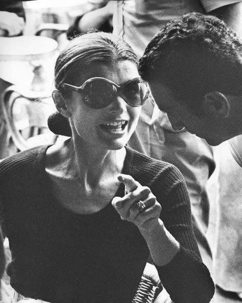 Ron Galella, Jackie Onassis, Capri, 1970