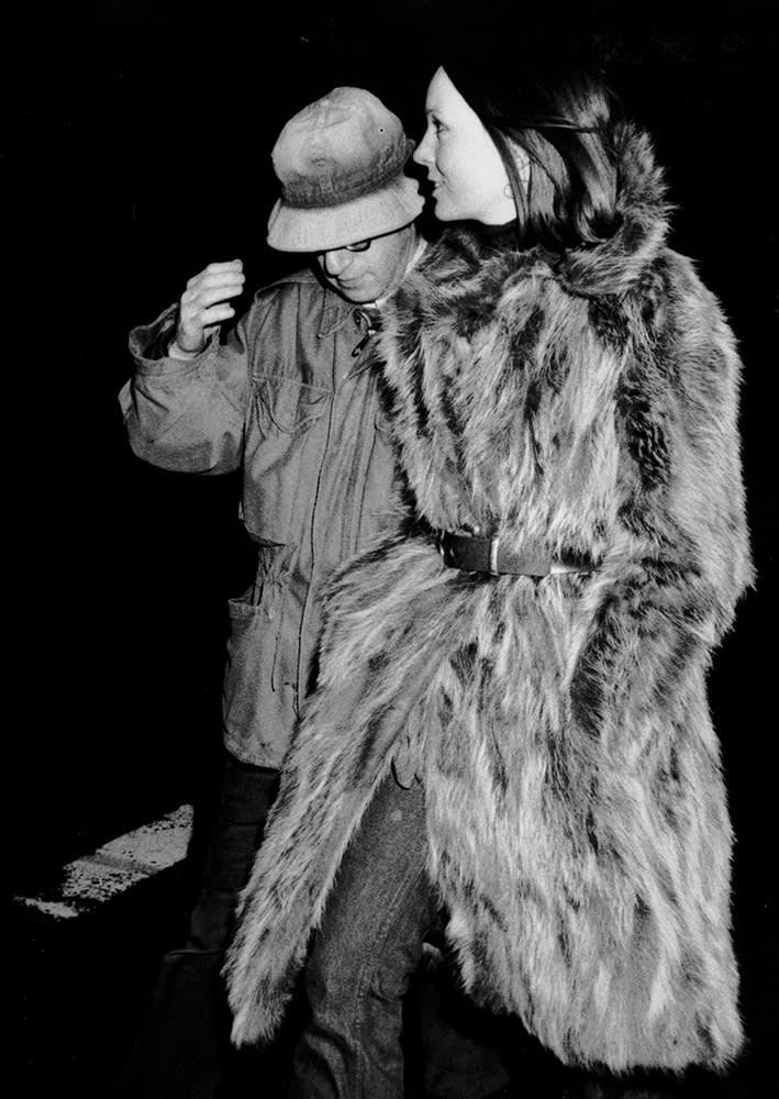 Ron Galella, Woody Allen & Diane Keaton, New York, 1974