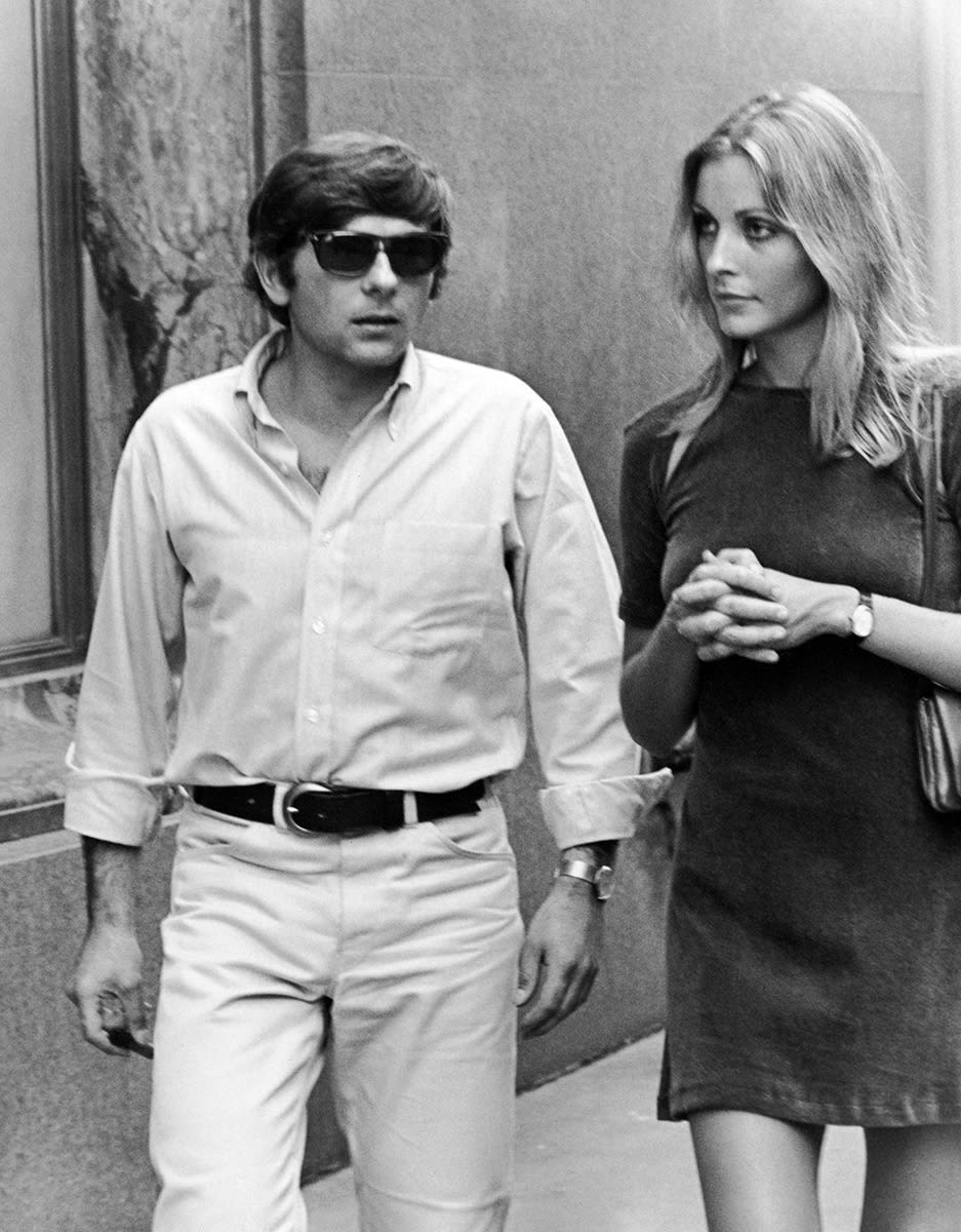 Ron Galella, Roman Polanski & Sharon Tate, New York, 1967