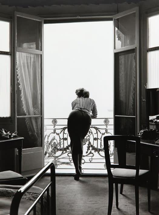 Edward Quinn, Sophia Loren, Carlton Hotel, Cannes, 1955