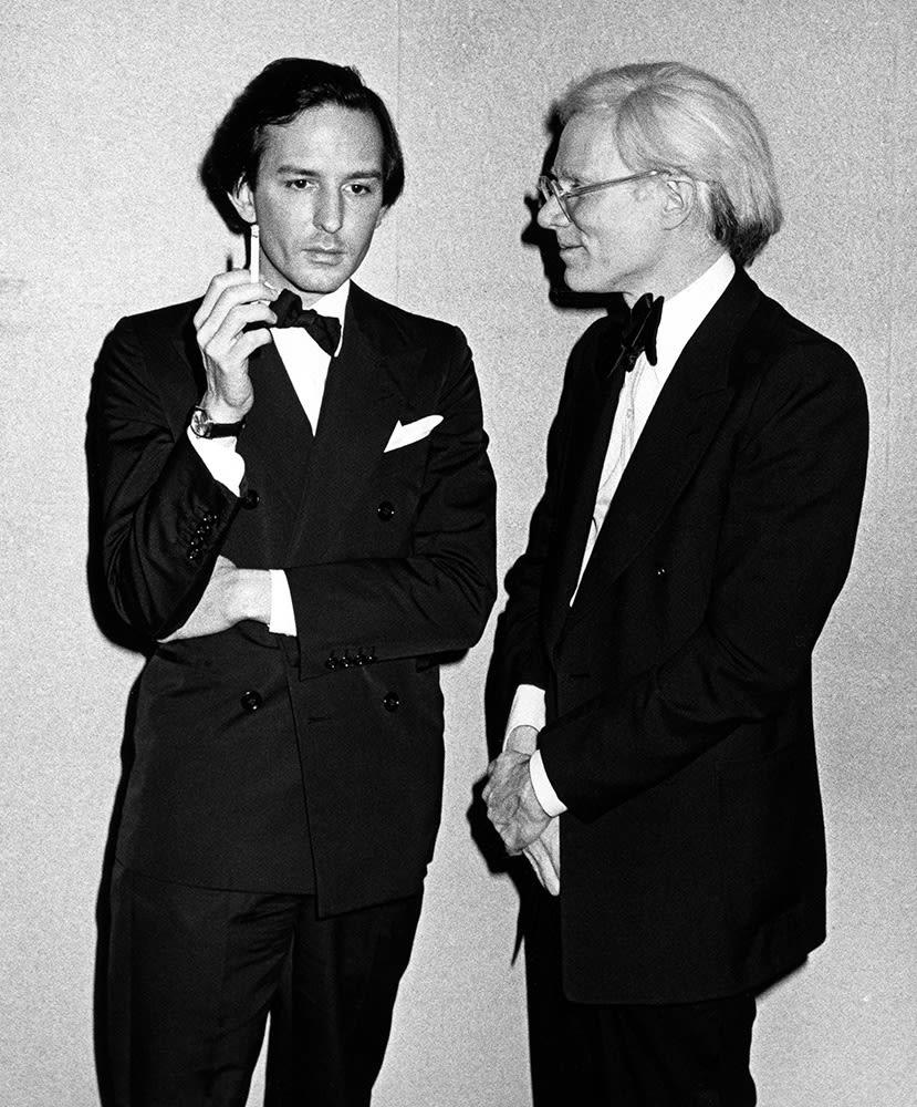 Ron Galella, Andy Warhol & Fred Hughes, New York, 1975