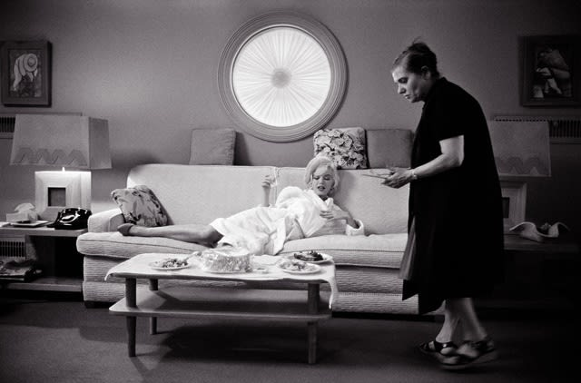 Lawrence Schiller, Marilyn Monroe with Paula Strasberg, 1962