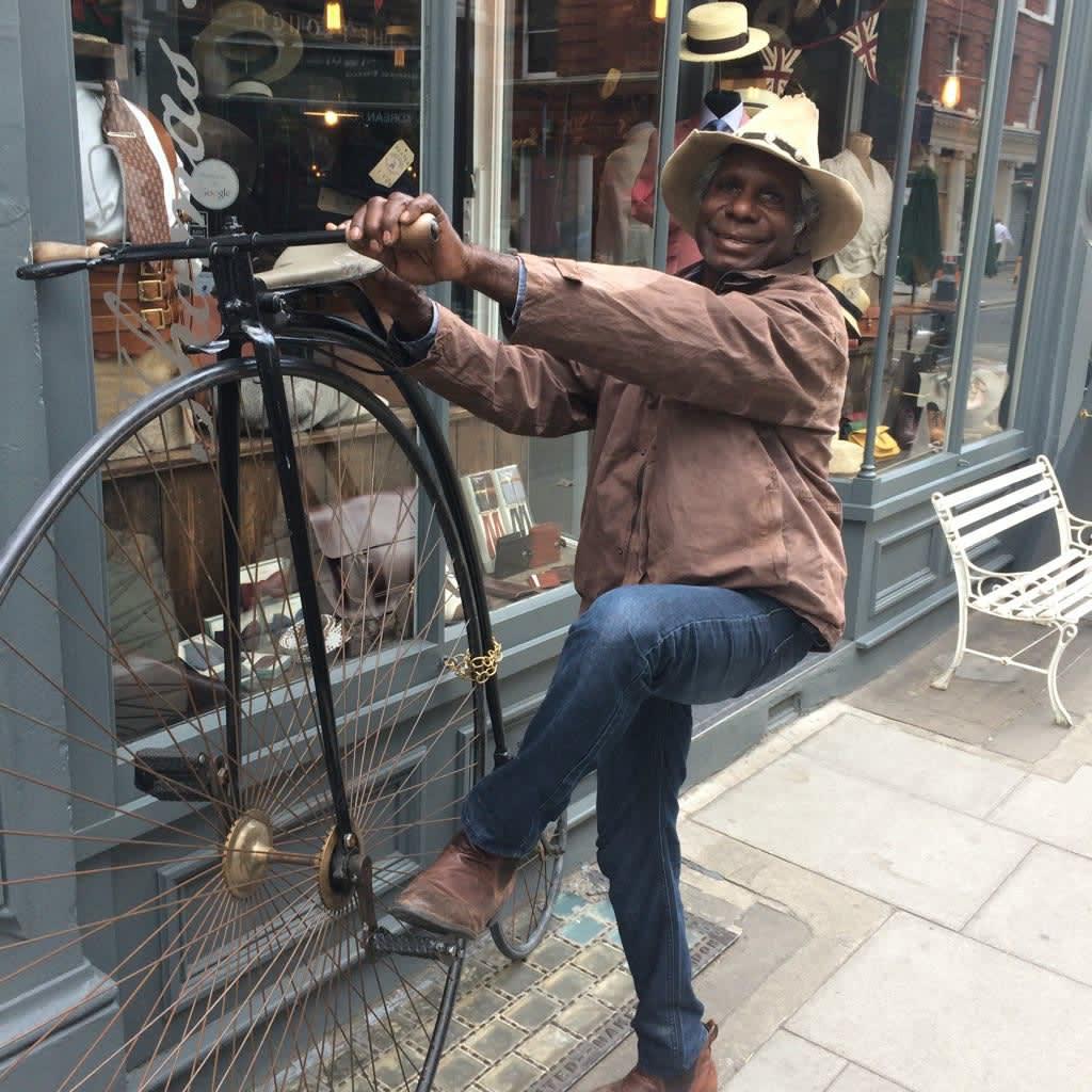 Mervyn Street in London during Jumu: Artists of Fitzroy Crossing (2016)