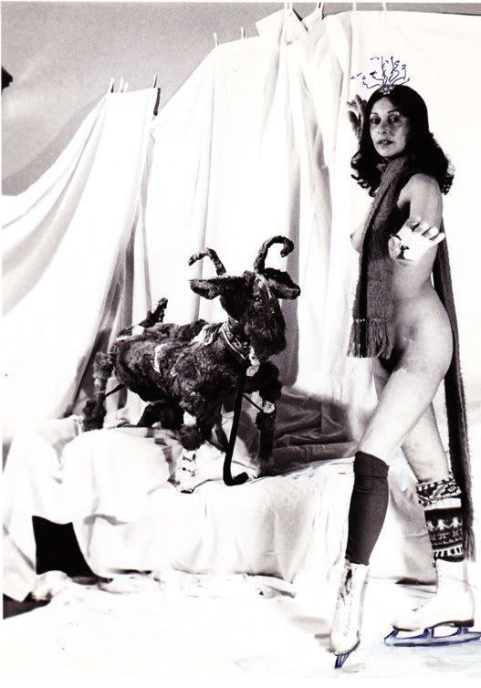 Carolee SCHNEEMANN Ices Skating(c 1972)
