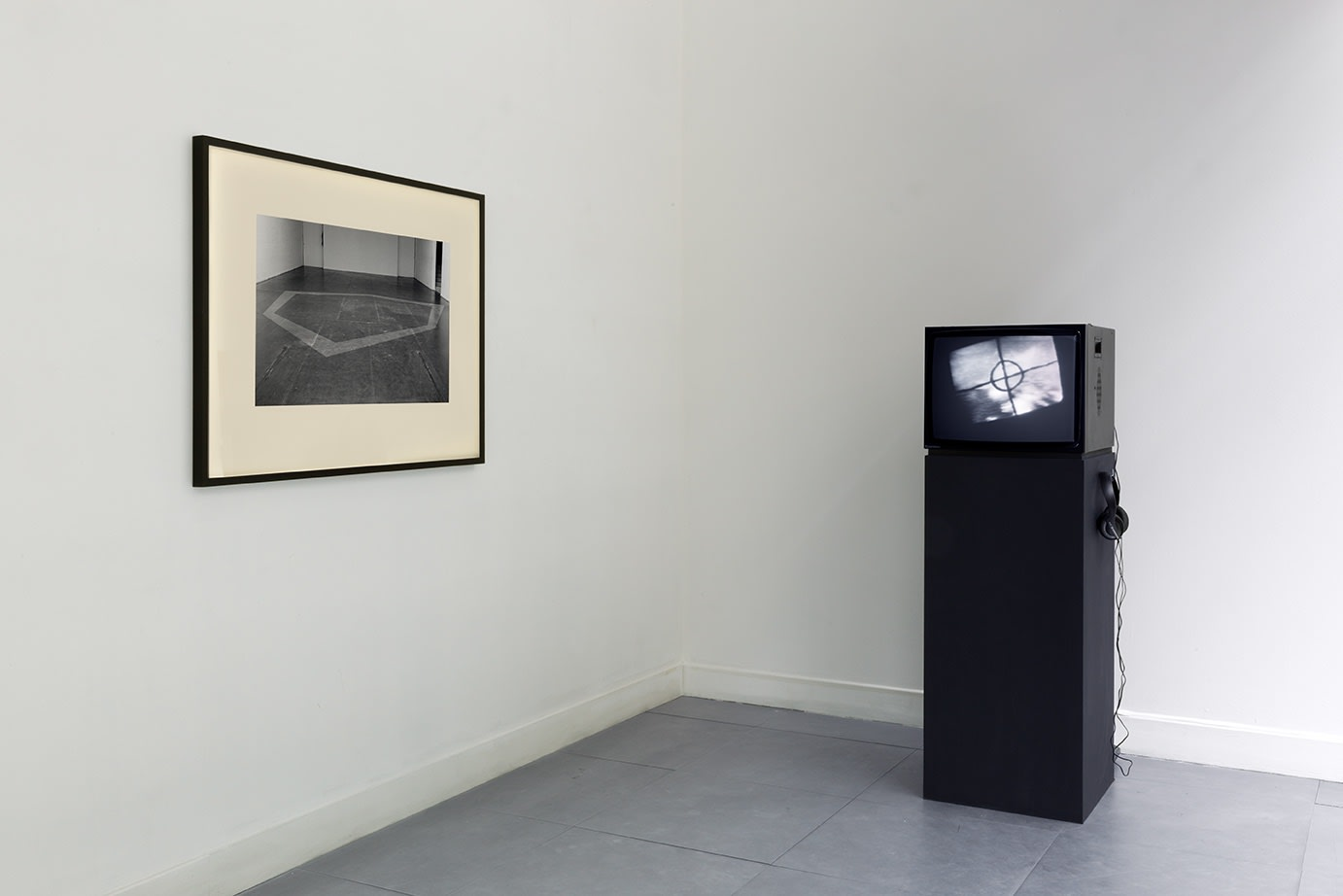 David Hall | Situations Envisaged installation view at Richard Saltoun Gallery.