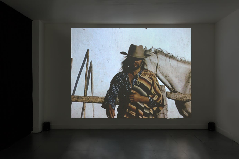 David Hall | Situations Envisaged installation view at Richard Saltoun Gallery.