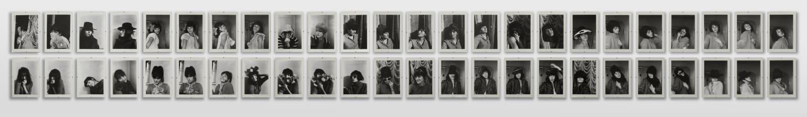 Renate BERTLMANN Verwandlungen (Transformations), 1969/2013 53 black and white photographs 25 x 17 cm (each)