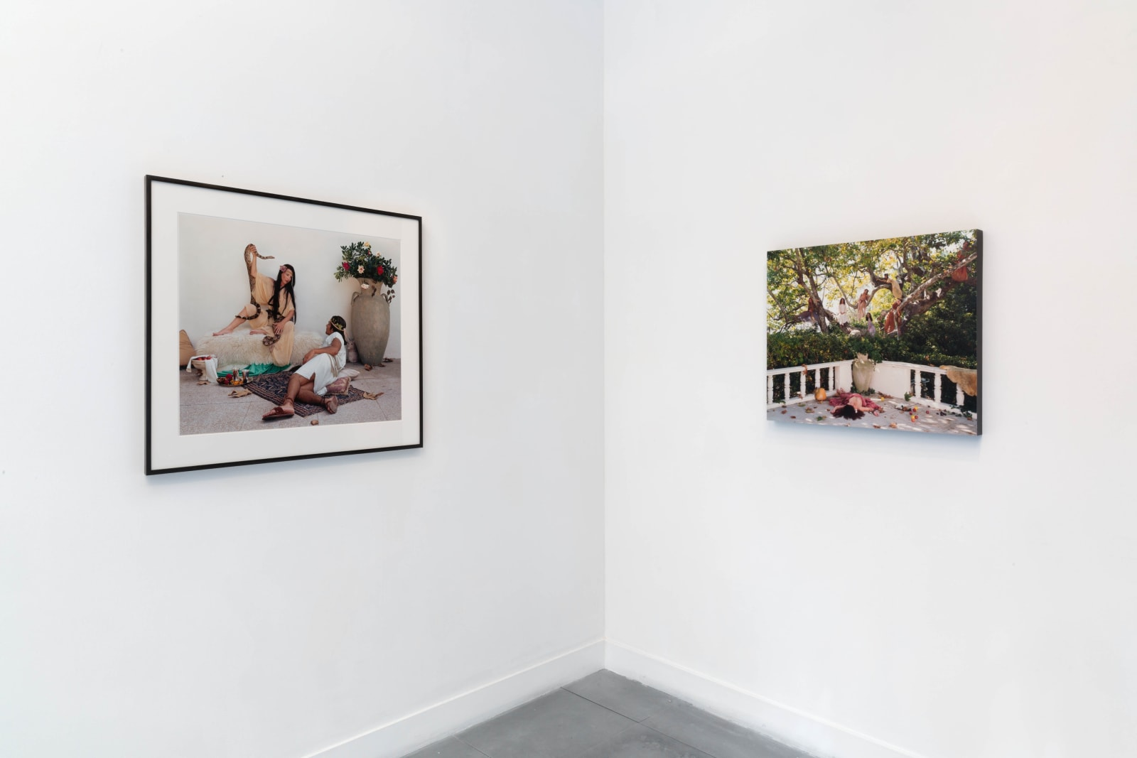 Installation view, Eleanor Antin: Romans & Kings Photo by FXP Photography.
