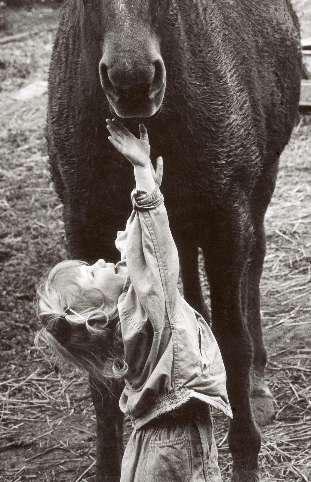 Meg Reaching, late 1950s