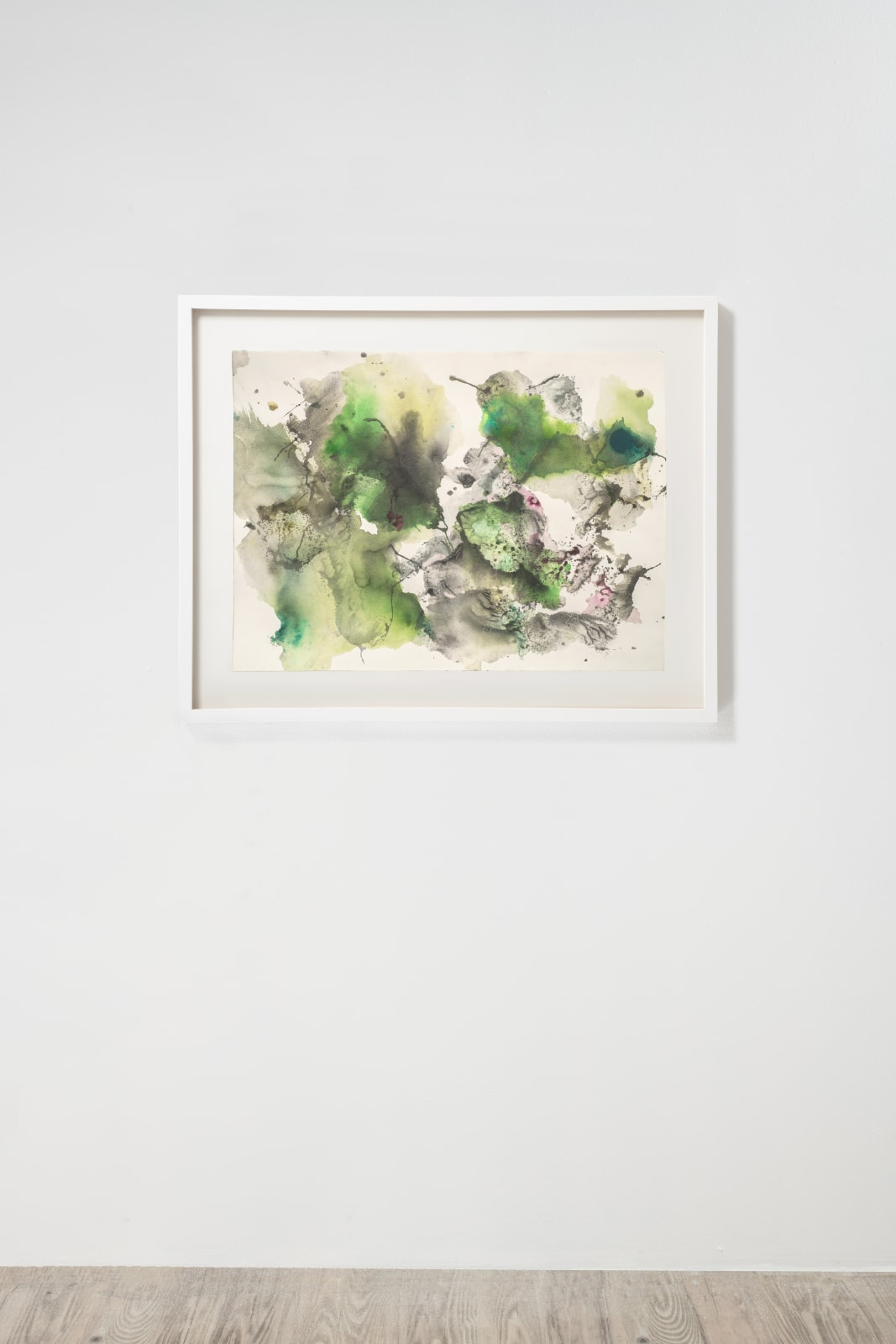 Michele Colburn Entrapment, 2020 Gunpowder and watercolors on Fabriano paper 55.9 x 76.2 cm, 22 x 30 in. (Frame not included) Photo: Lee Stalsworth
