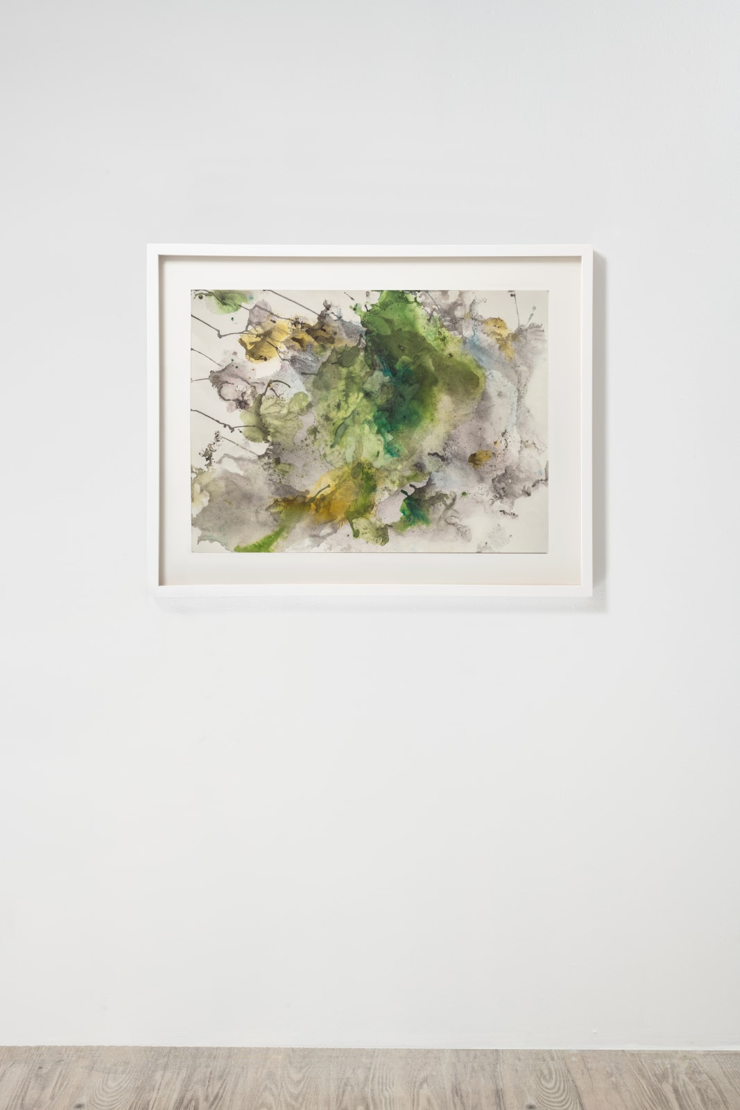 Michele Colburn Holding Steady, 2020 Gunpowder and watercolors on Fabriano paper 55.9 x 76.2 cm, 22 x 30 in. (Frame not included) Photo: Lee Stalsworth