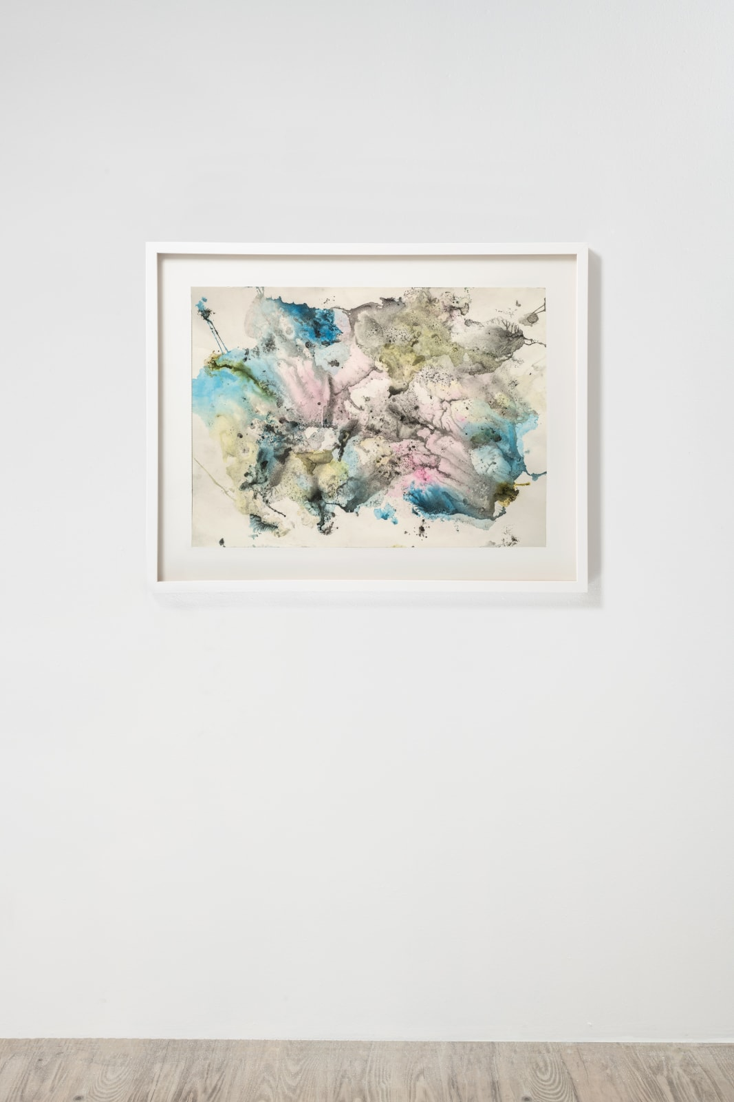 Michele Colburn Untitled, 2020 Gunpowder and watercolors on Fabriano paper 55.9 x 76.2 cm, 22 x 30 in. (Frame not included) Photo: Lee Stalsworth