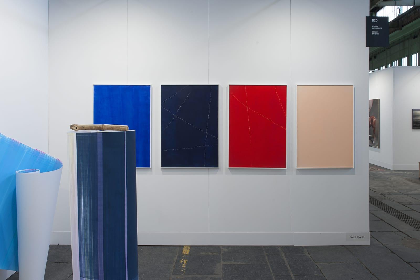 Installation View: • Tashi Brauen (Center) • Elisabeth Sonneck (Front/Left)