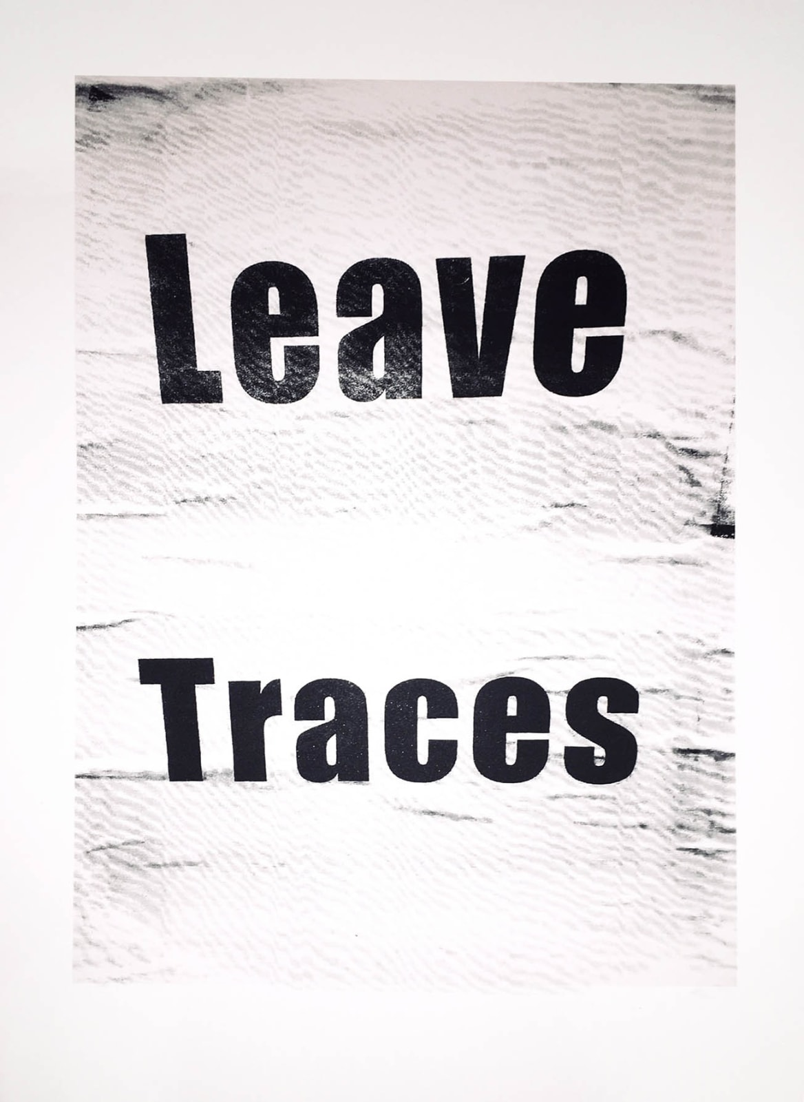 Ethel Shipton Leave Traces (Listening to Berlin Series), 2019