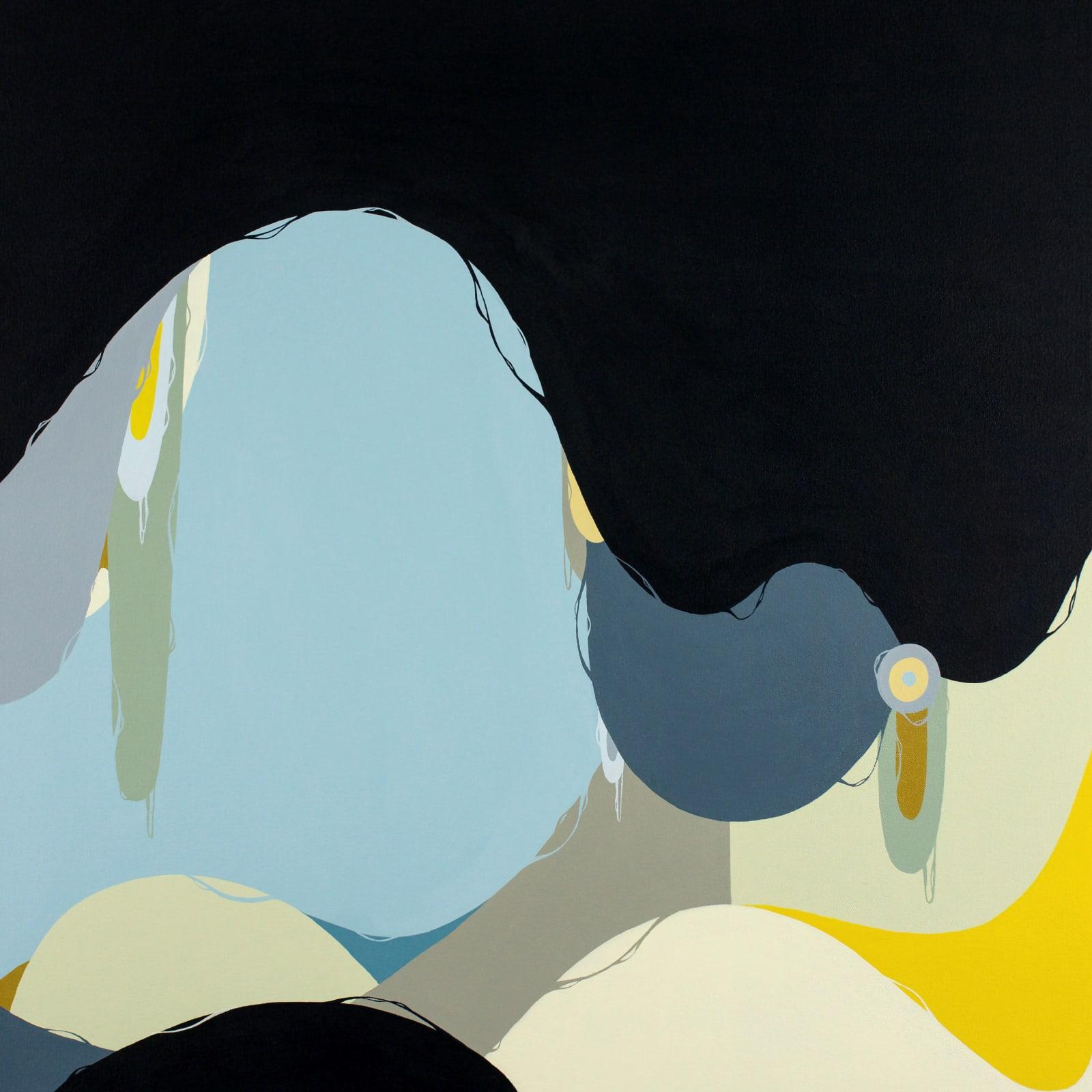 Fernando Andrade Espacio #80, 2021 Acrylic on canvas 30 x 30 x 2 in 76.2 x 76.2 x 5.1 cm