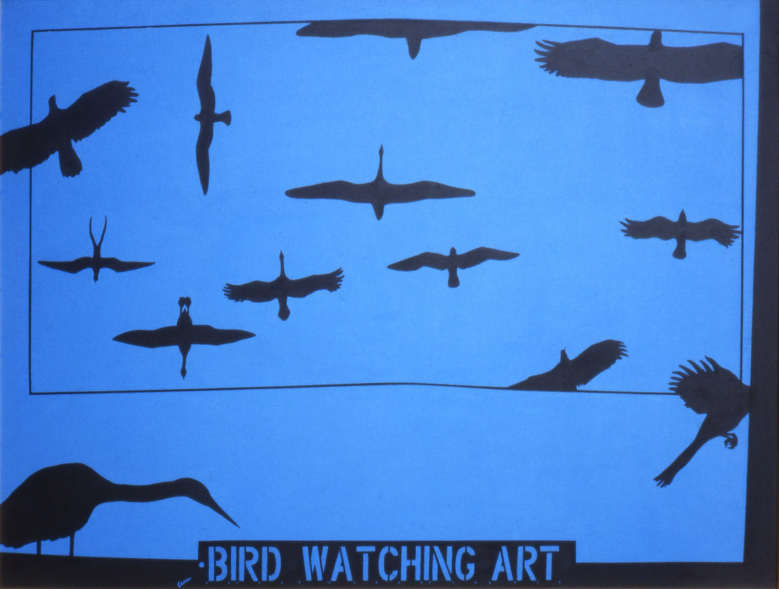 Mel Casas Humanscape 95: Bird Watching Art, 1978-02-01