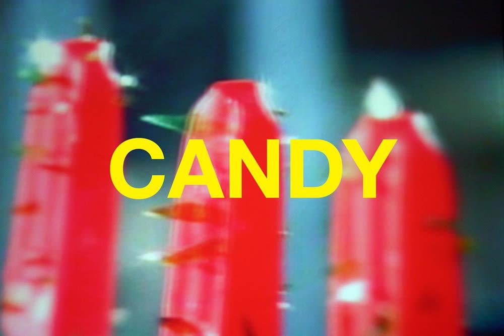 Chuck Ramirez Words: Candy, 2004