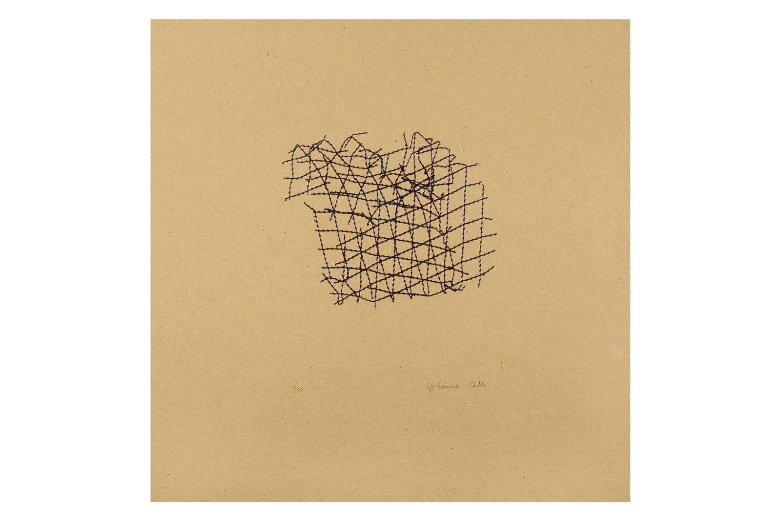 Johanna Calle Sin título (rejillas) Untitled (grids), 2016