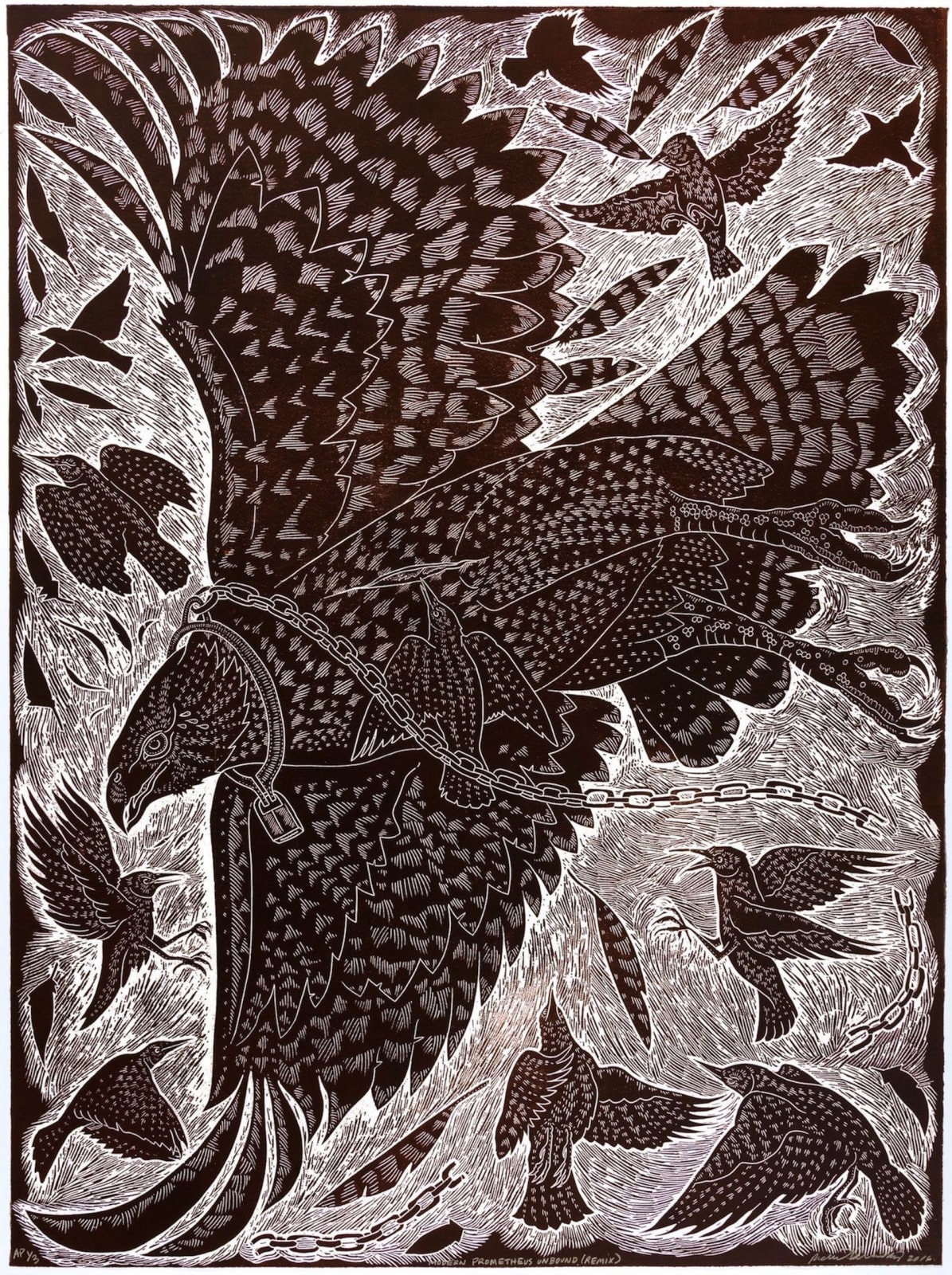 Richard Armendariz Modern Prometheus Unbound (remix), 2015