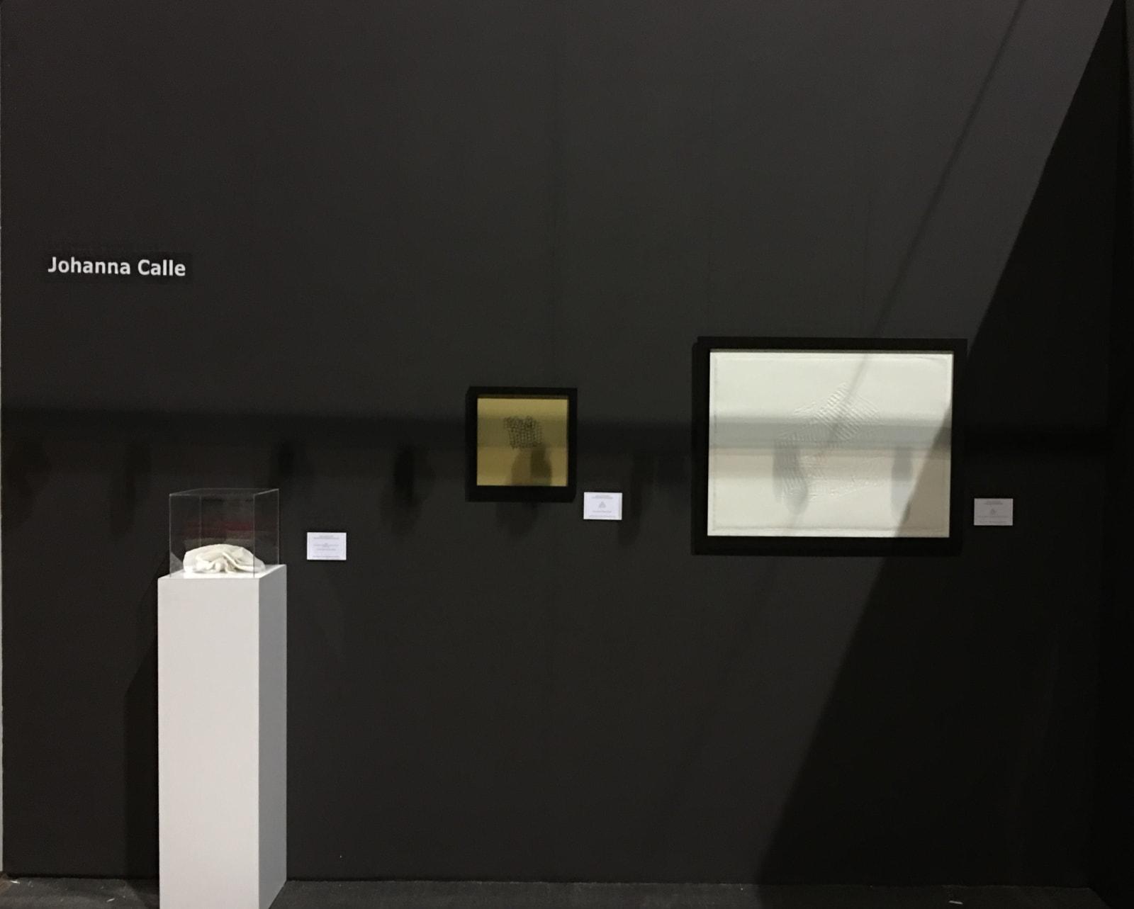 Johanna Calle at the IFPDA Fine Art Print Fair