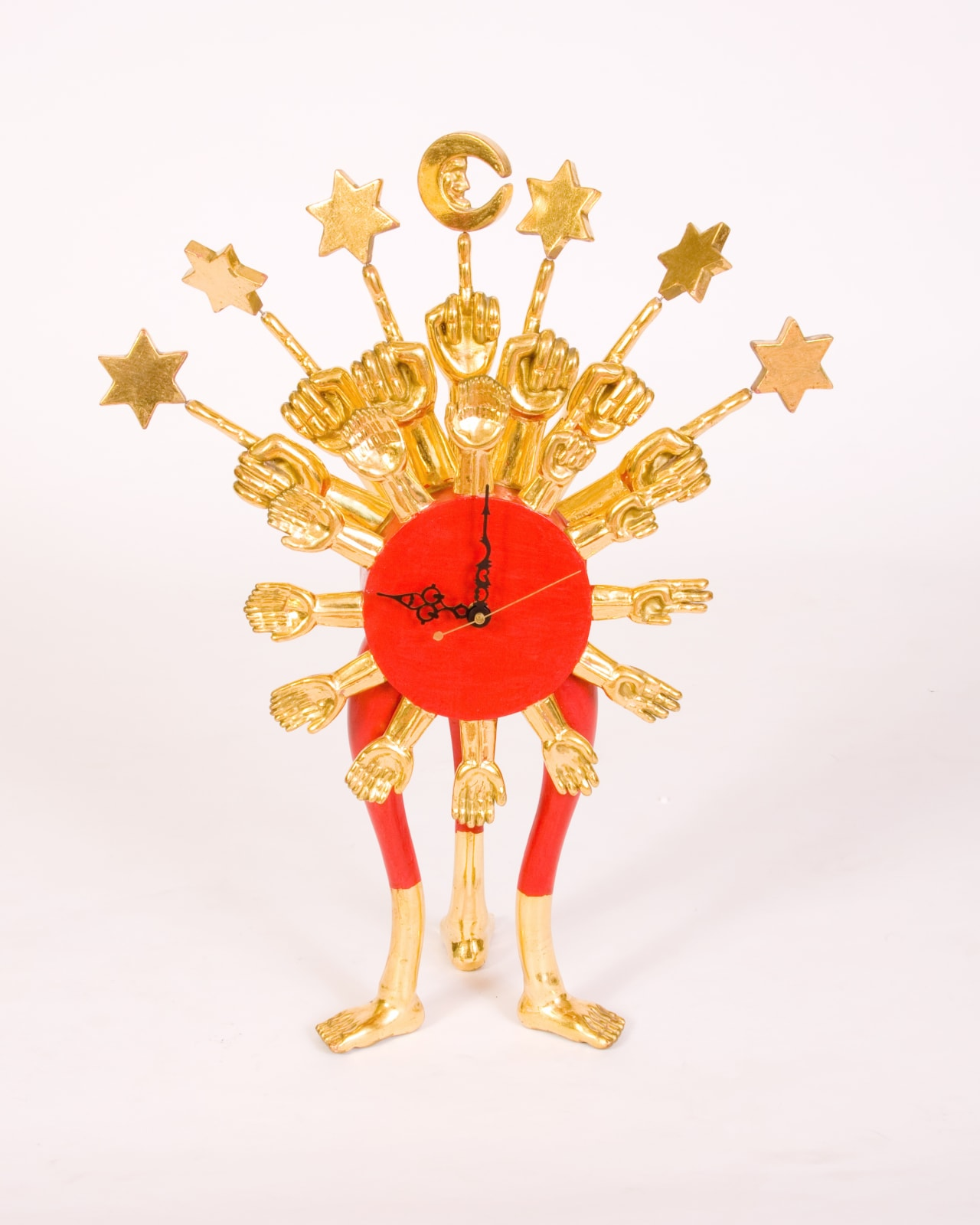 Pedro Friedeberg Clock, 1998