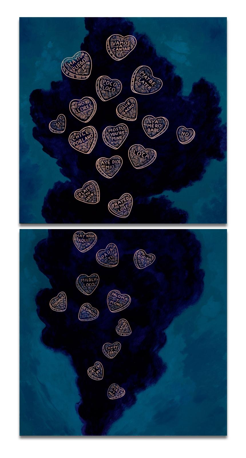 Ricky Armendariz, Candy Hearts, 2015