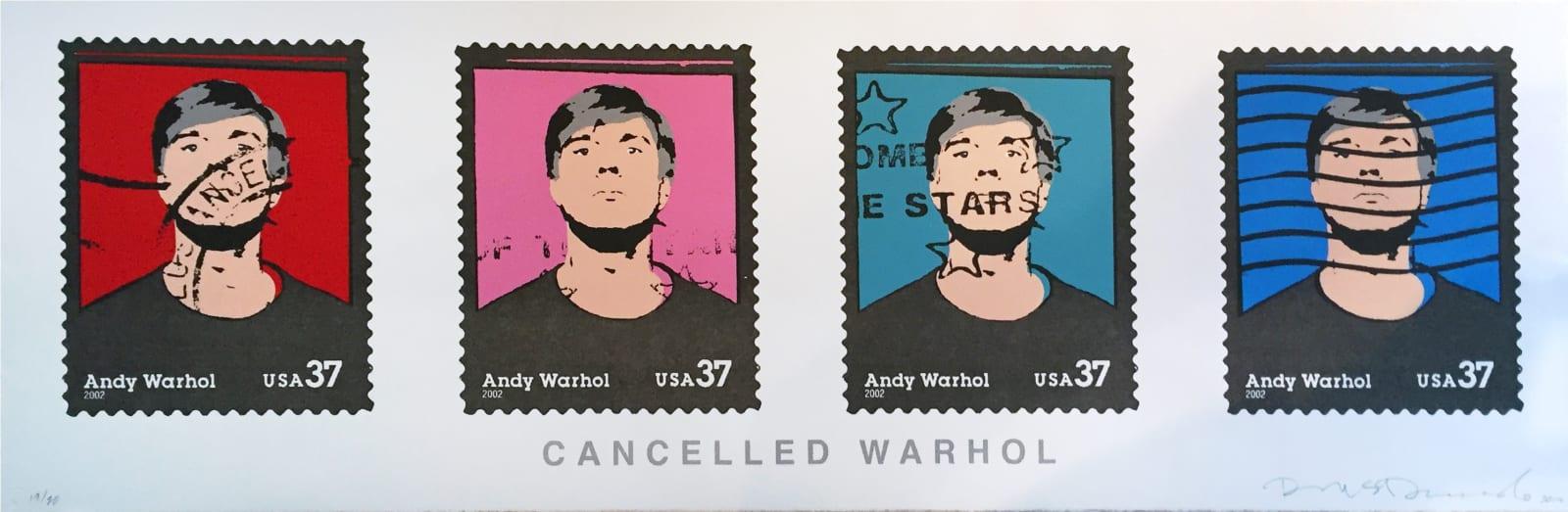 Richard Duardo, Cancelled Warhol, 2014