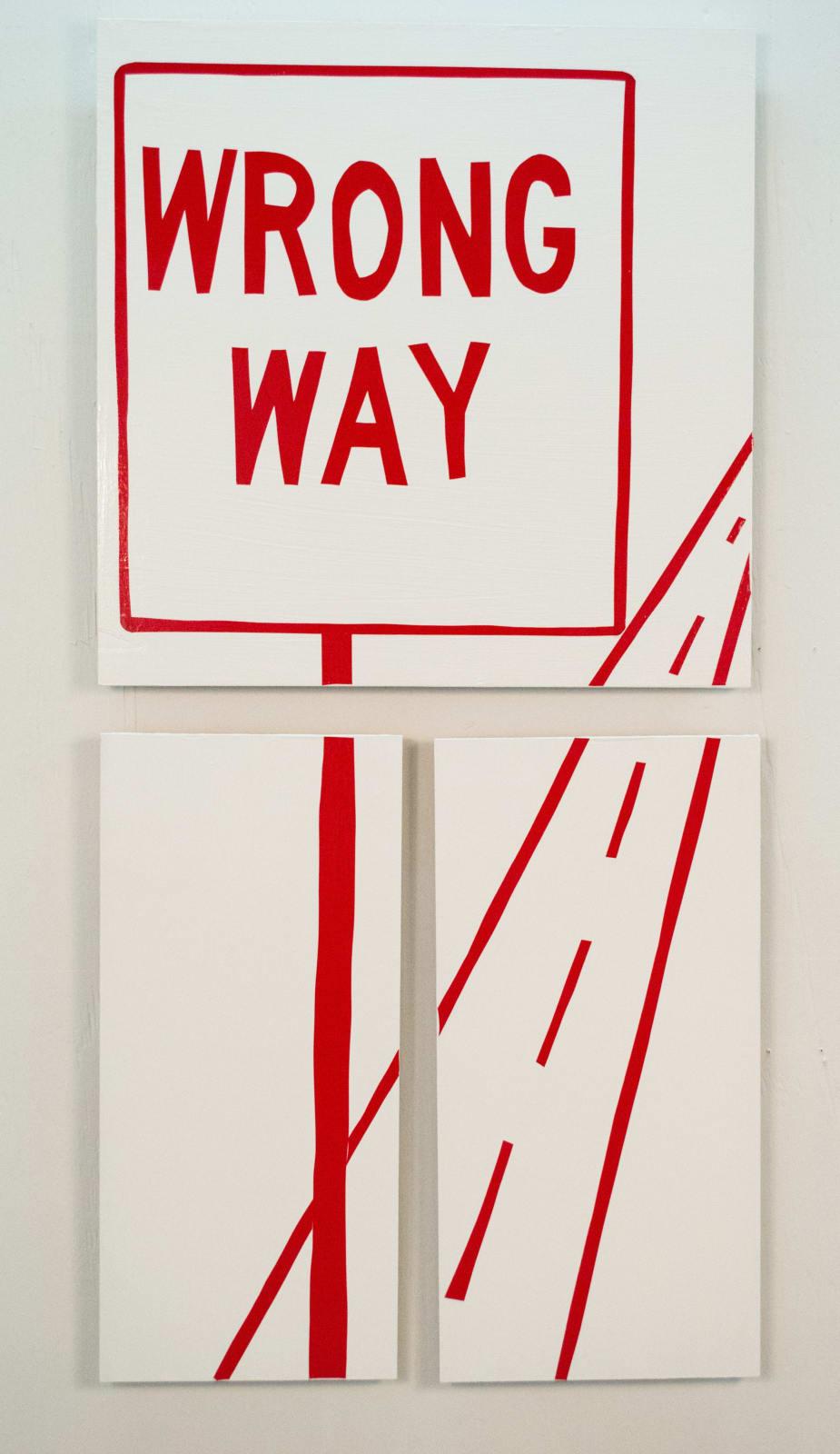 Ethel Shipton Wrong Way, 2014