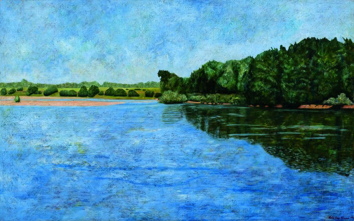 Pedro Diego Alvarado-Rivera Vista del Rio Loira, Francia, 1998