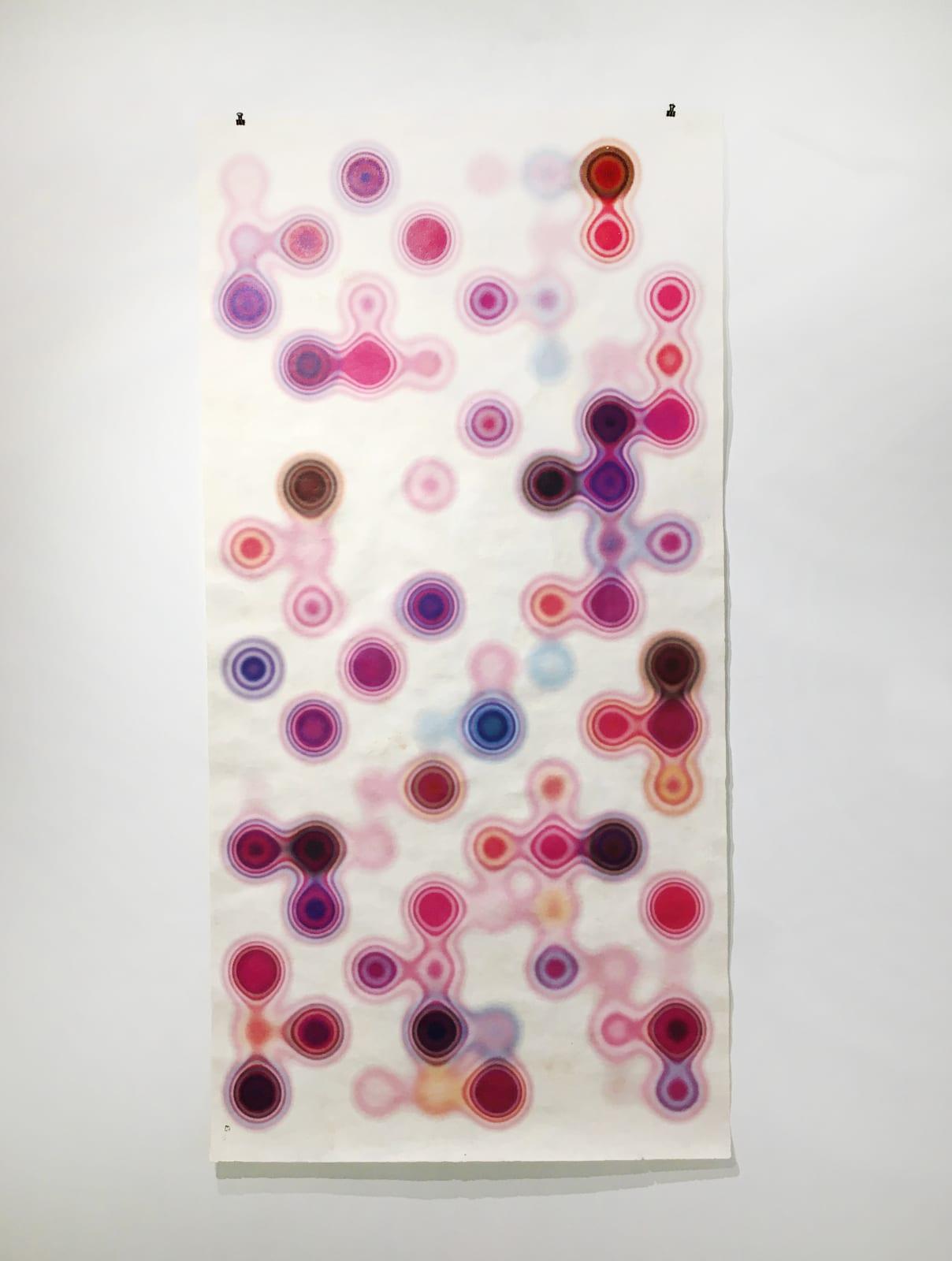 Andrés Ferrandis Amate II, 2020 Archival print 1/1 on handmade amate paper 94 x 45.5