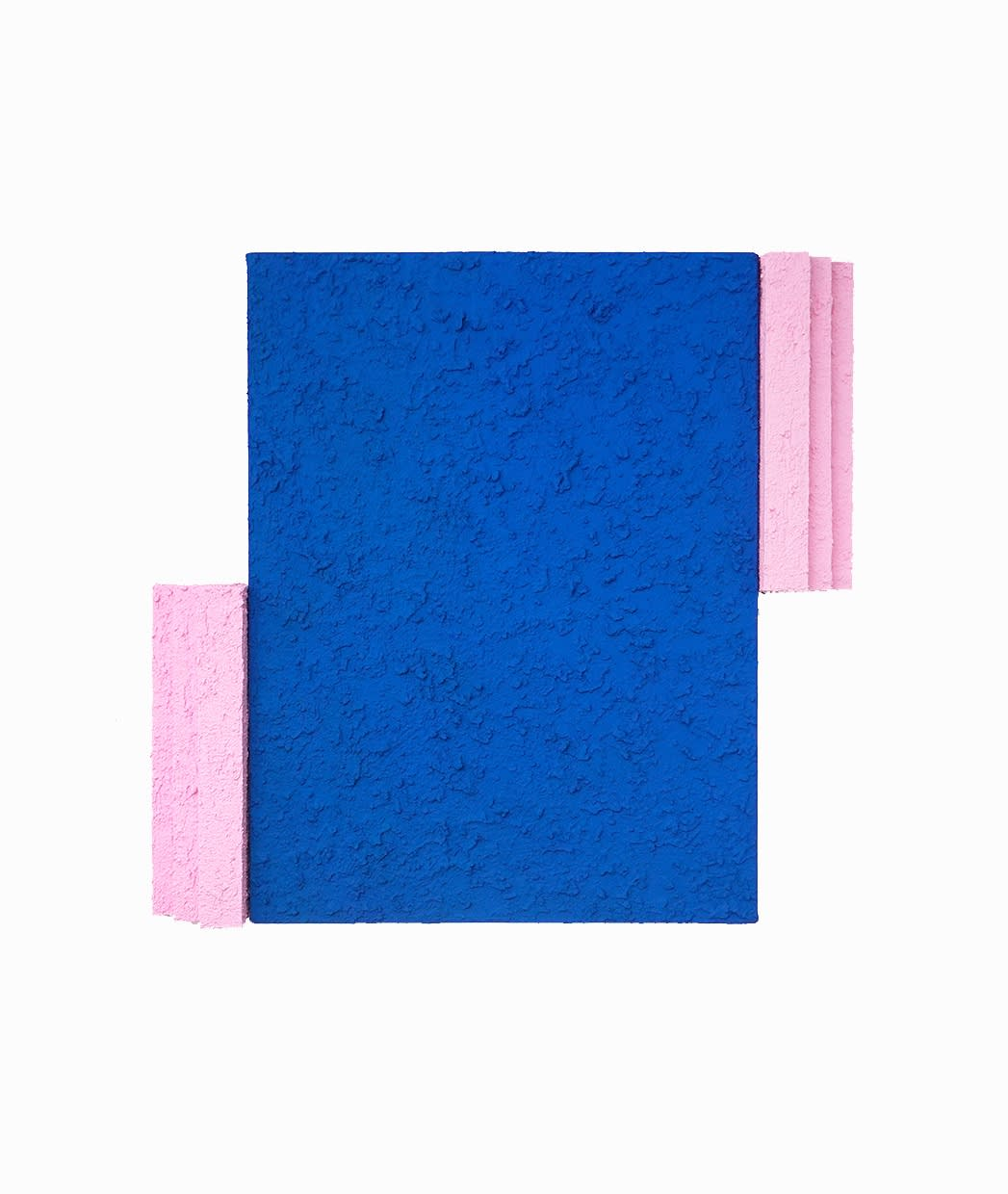Eric Santoscoy-McKillip Piscina, 2021 Acrylic, flashe, and stucco on canvas and wood 24 x 20 x 2.25 in 61 x 50.8 x 5.7 cm