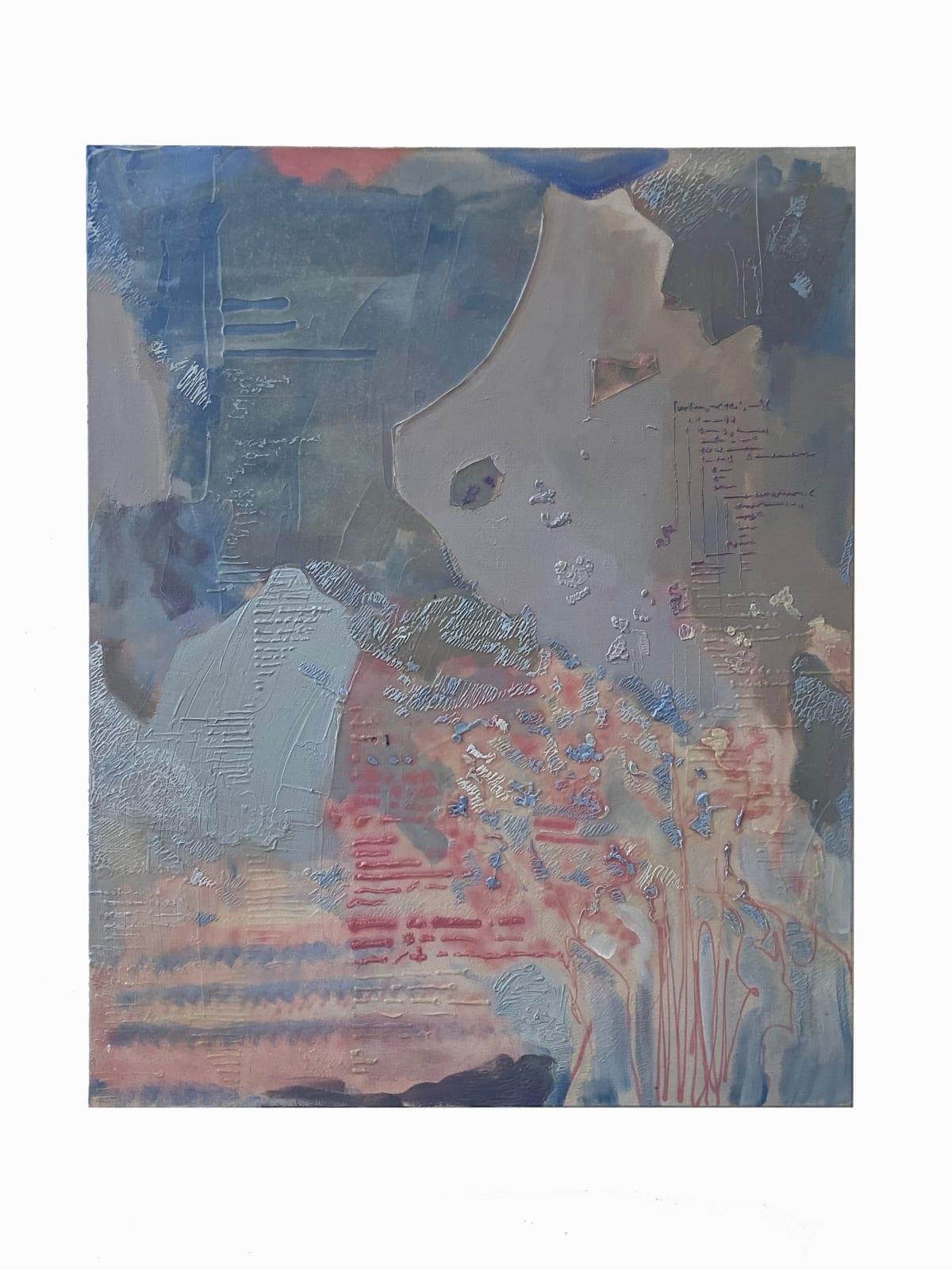 Ricardo Cabret Un Nuevo Lenguaje, 2020 Gel polymers and acrylic on canvas 40 x 50 in 101.6 x 127 cm
