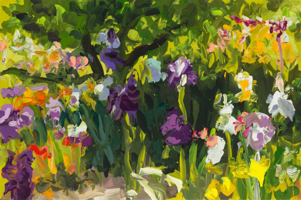 JAN DE VLIEGHER - GARDEN 30 - 2018 - OIL ON CANVAS - 110 X 165 CM