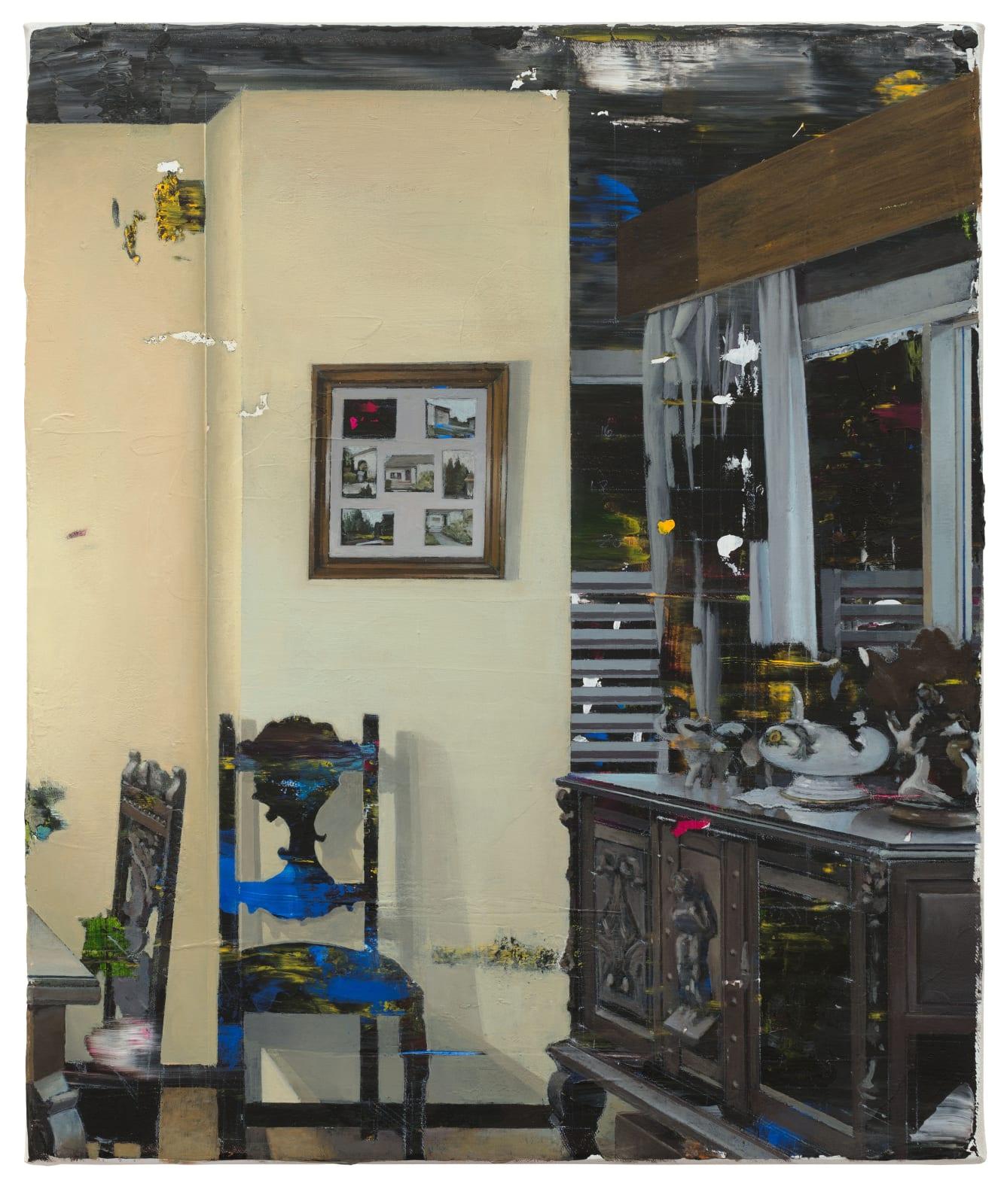 CARLOS SAGRERA - UMHANG - 2017 - ACRYLIC ON CANVAS - 44 X 37 CM