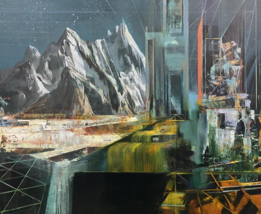 TIM KENT - TERRA INFIRMA - 2016 - OIL ON LINEN - 91 X 76 CM