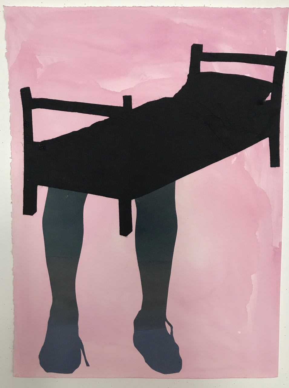 Sally Smart, The Choreography of Cutting (Pink Hand), 2014