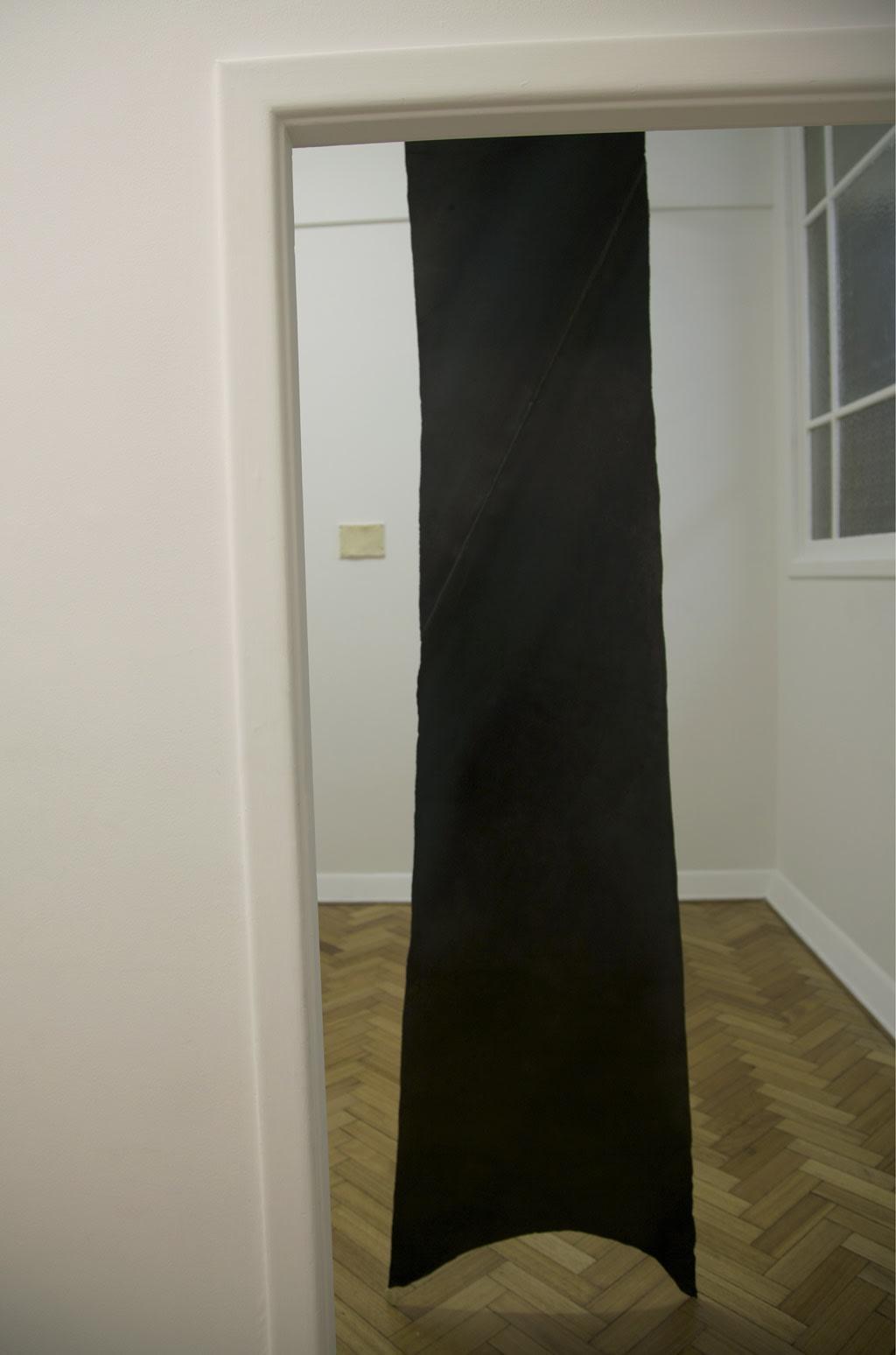 Susan Jacobs, Yield (oxhide), 2014