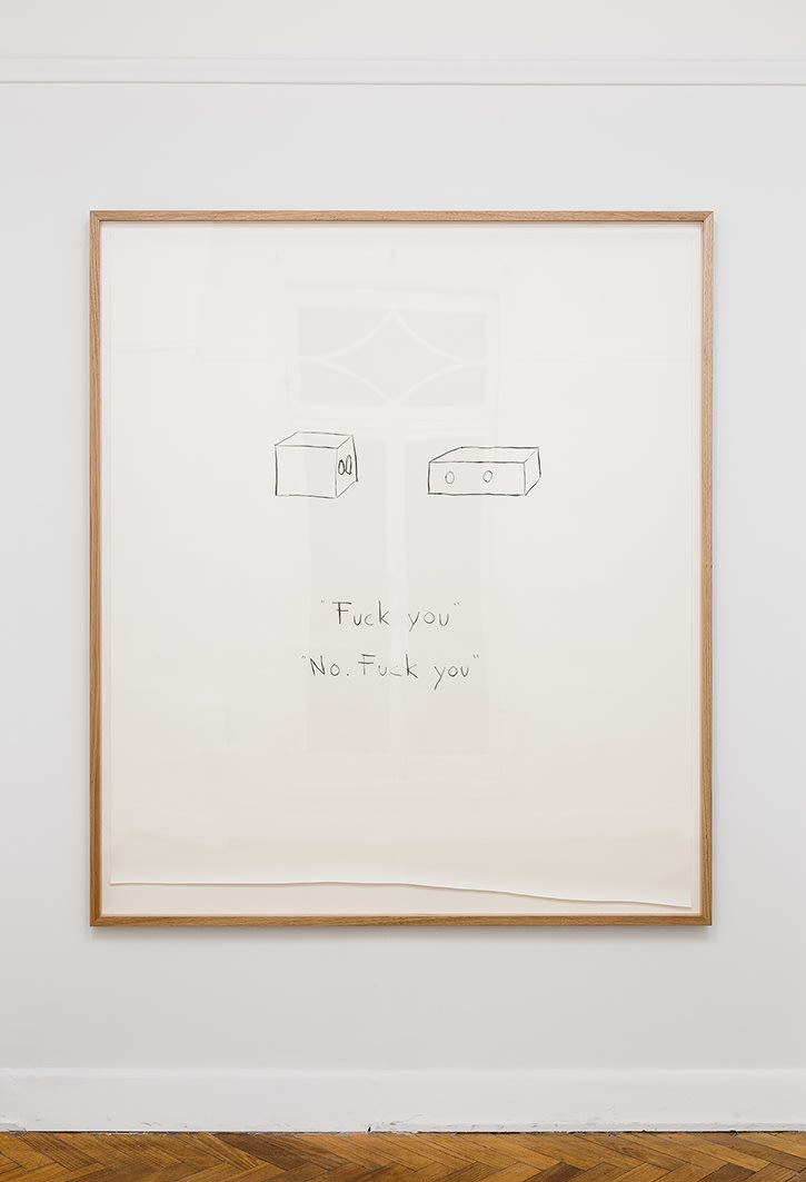 Kiron Robinson, It's not me, it's you, 2017