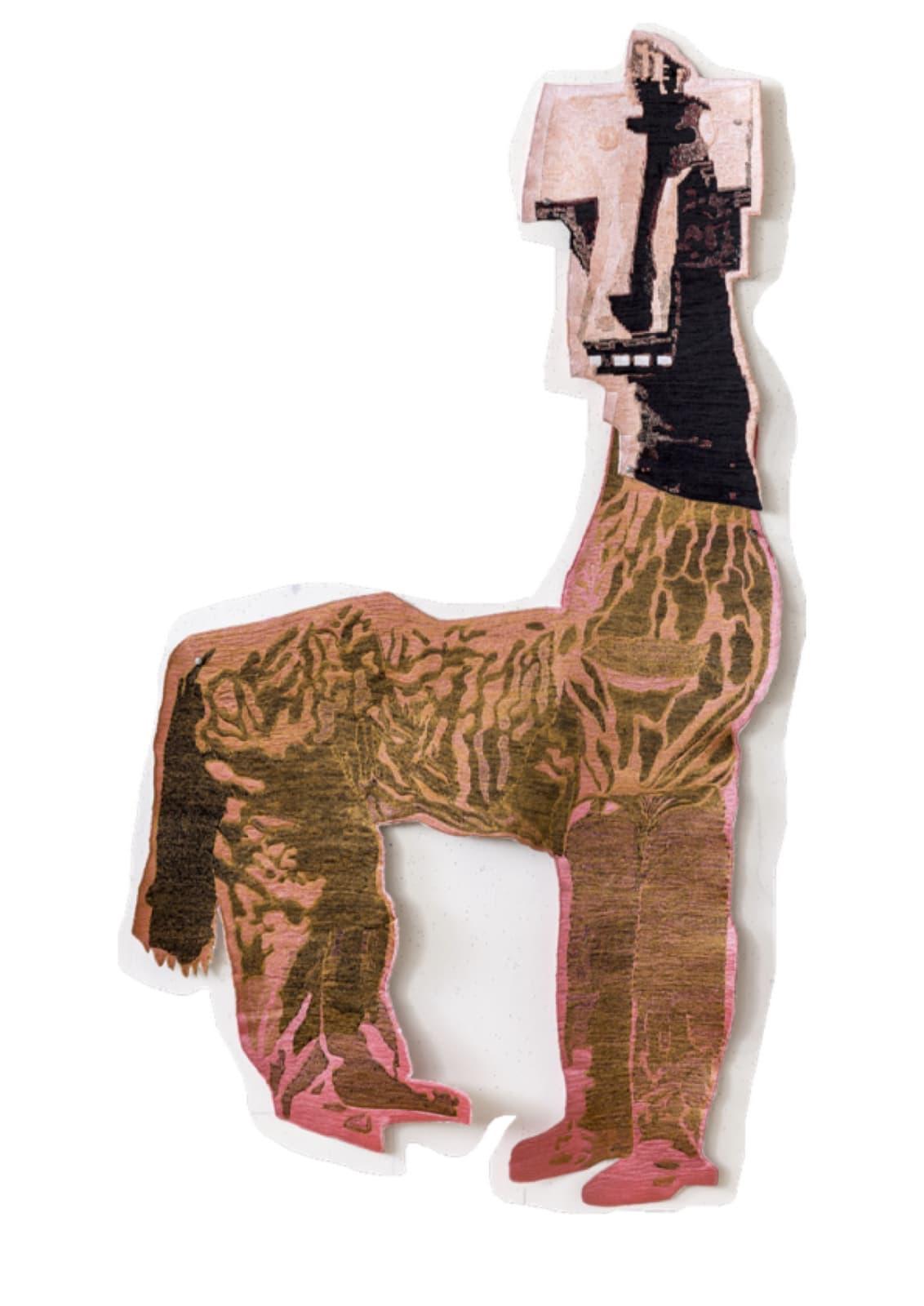 Sally Smart, HorseCraft (Orange), 2015