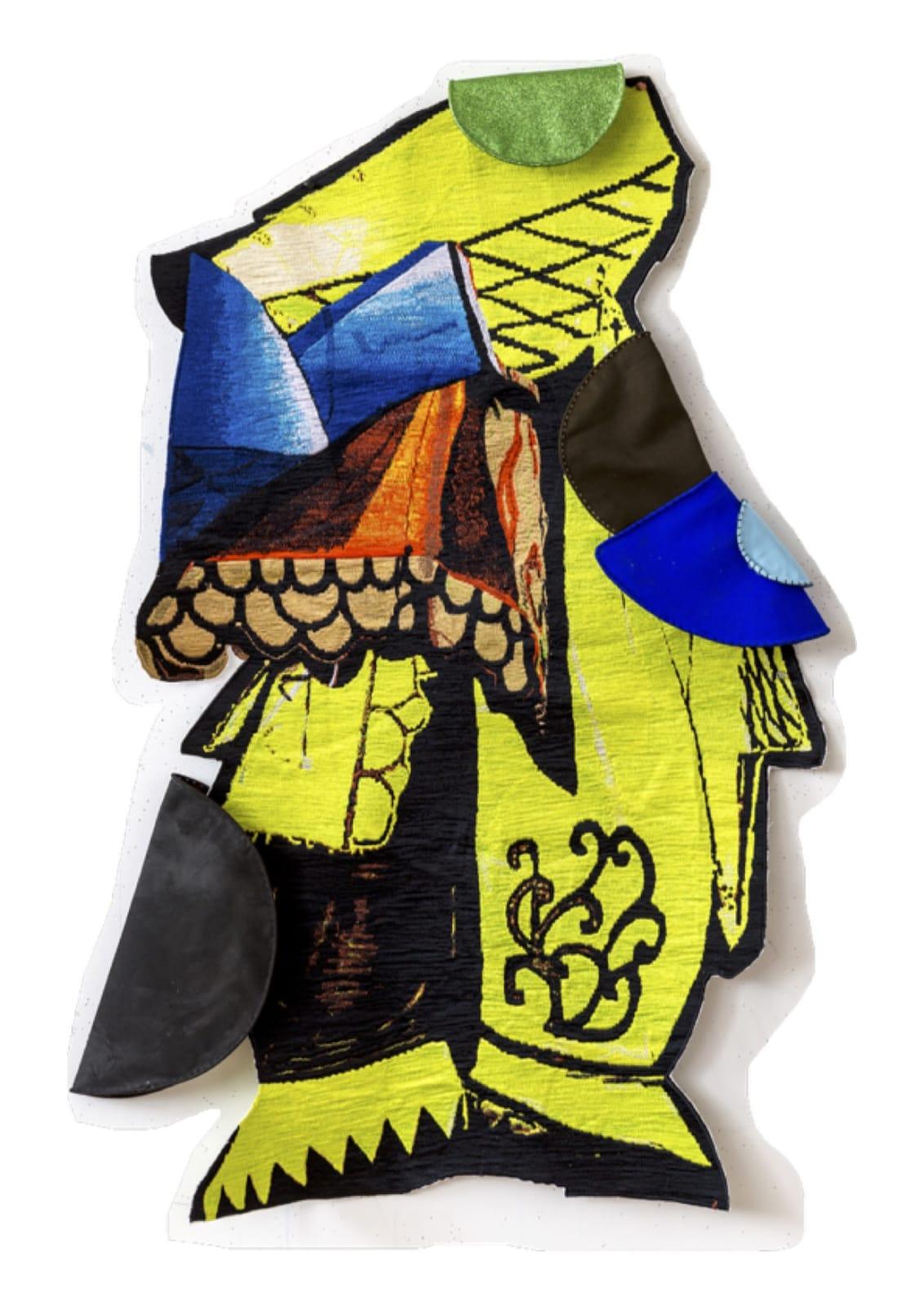 Sally Smart, Performance Assemblage (Yellow Chout), 2016