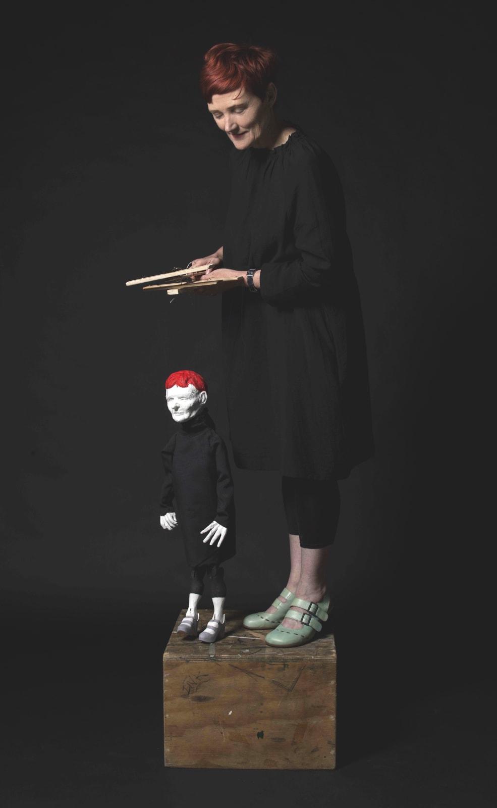 Sally Smart, Pedagogical Puppet (Self Portrait), 2012