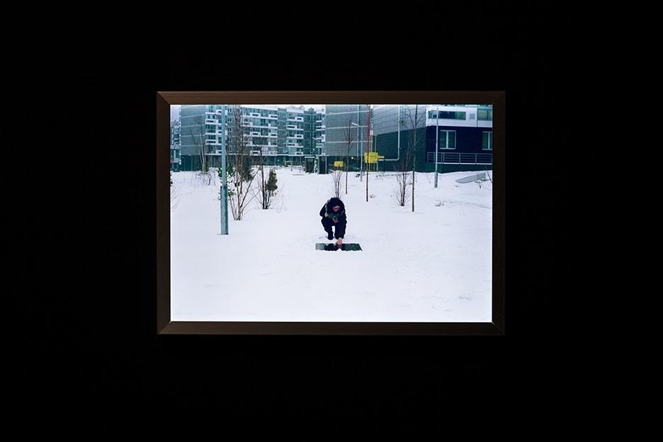 Sanja Pahoki, From the Dark to the White, 2016