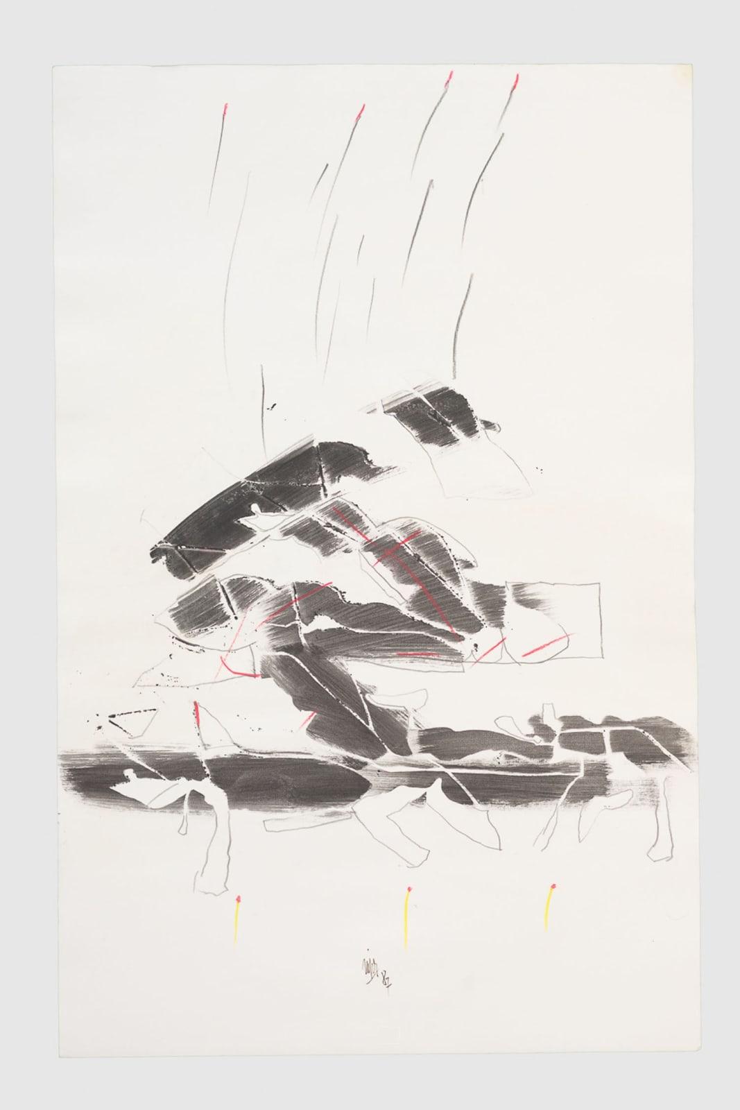 Rafik El Kamel, Untitled, 1987