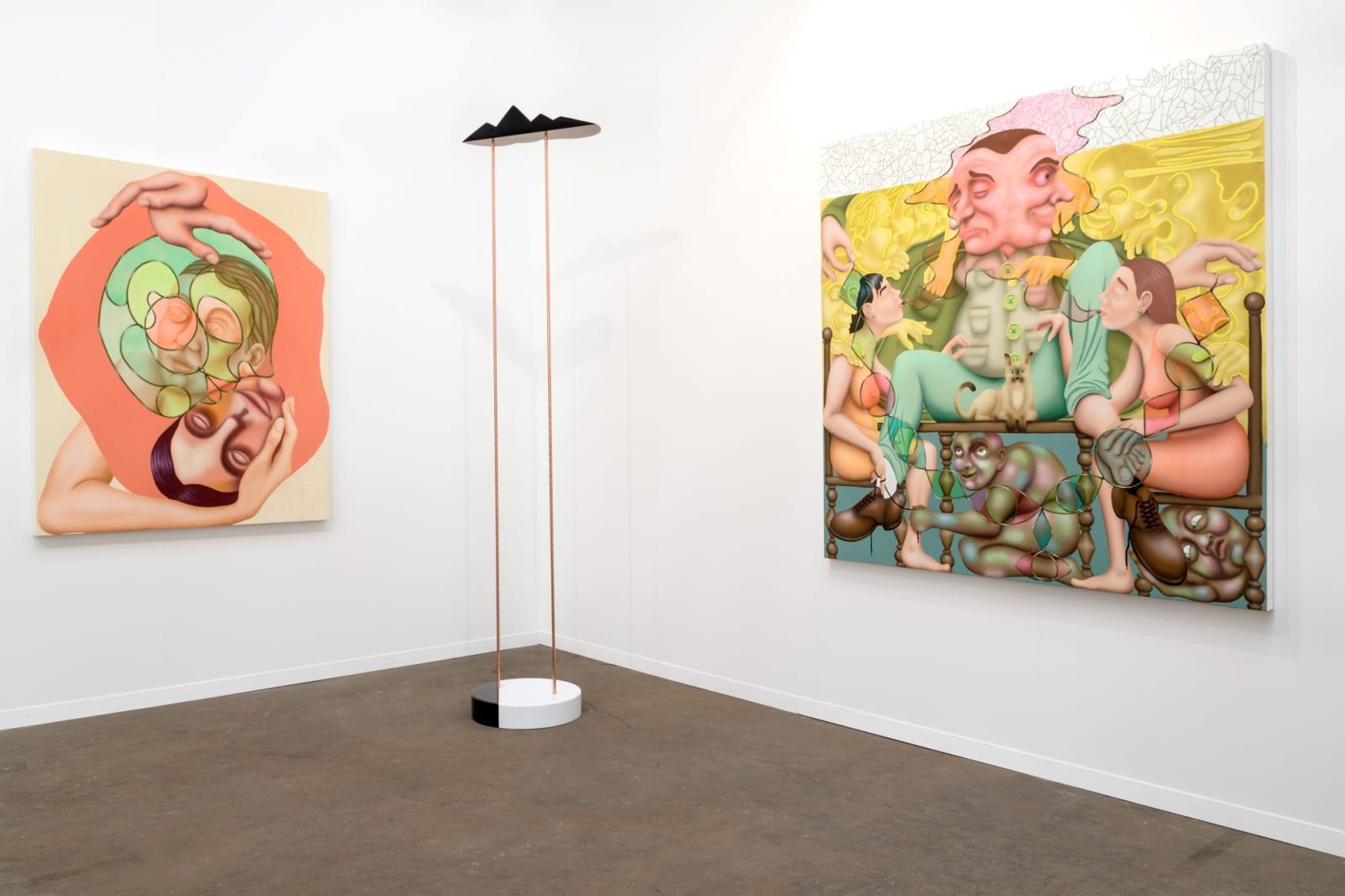 Installation view, Shulamit Nazarian at Art Brussels 2017