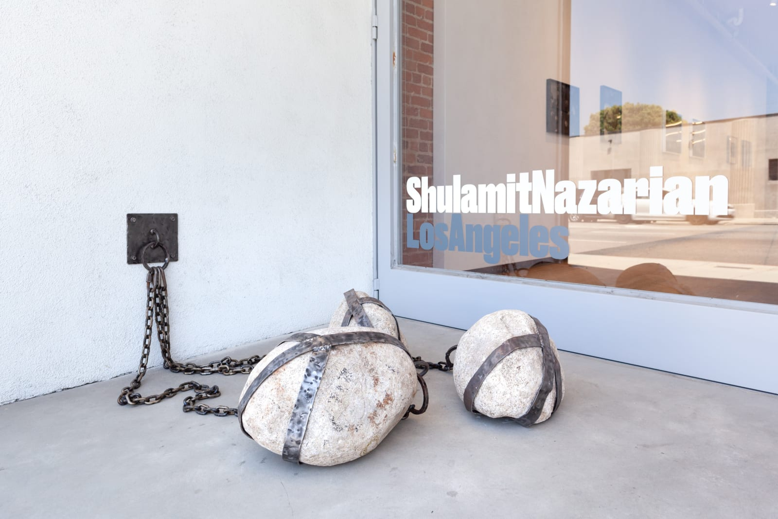 Fay Ray. Hold on Tight, Shulamit Nazarian, Los Angeles, 2020
