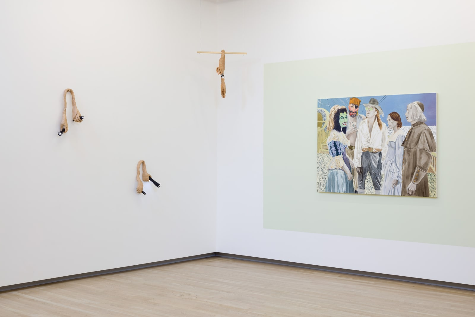 Roni Schneior and Katie Dorame in By The Lights of Their Eyes, 2018. Shulamit Nazarian, Los Angeles