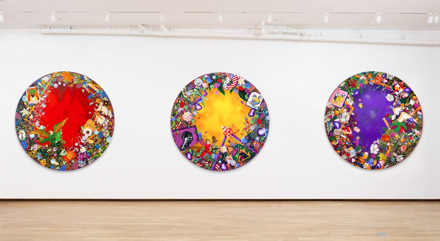 Amir H. Fallah, Remember My Child..., installation view