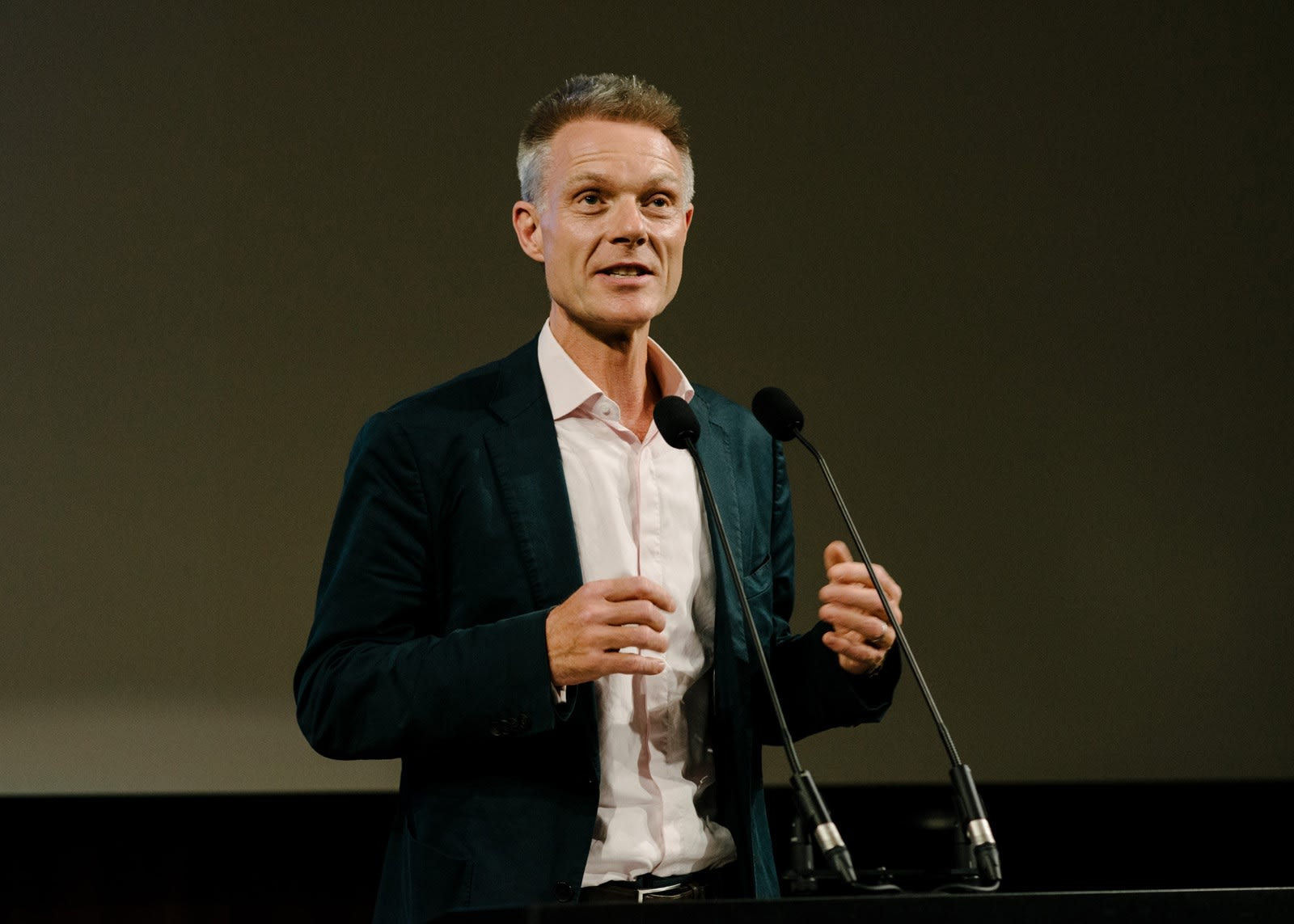 Tim Marlow at A Short Affair book launch
